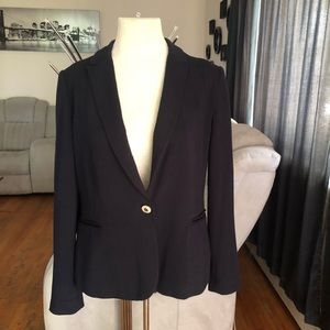 Zara Navy Blue Blazer Jacket size L